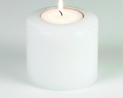 LUX_emotions_classic_white_10cm_SiN_Teelichthalter_Dauerkerze_Kerzenform_Teelichtkerzen
