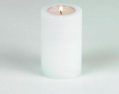 LUX_emotions_trend_white_6cm_SiN_Teelichthalter_Dauerkerze_Kerzenform_Teelichtkerzen
