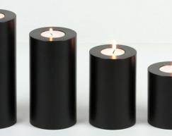 LUX_emotions_Trend_schwarz_reihe_SiN_Teelichthalter_Dauerkerze_Kerzenform_Teelichtkerzen