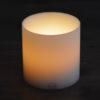 LUX Teelichthalter Insert weiß ∅ 12 cm Höhe 12 cm