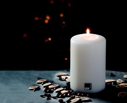 SiN! Dauerkerze - Teelichthalter in Kerzenform - Lux Living Emotions - mit Echtwachsteelicht