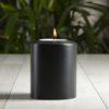LUX Teelichthalter Classic<br>schwarz ∅ 10 cm
