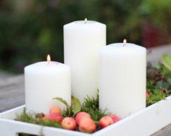 SiN! Teelichthalter Classic | Dauerkerze, Teelichtkerze, Kunststoffkerze mit Teelichteinsatz | künstliche Kerze mit Teelicht in Kerzenform & Kerzenoptik